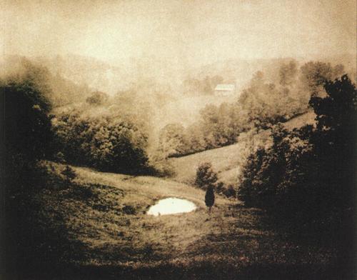 David Bartlett  Elliotville, KY: Pond  photogravure