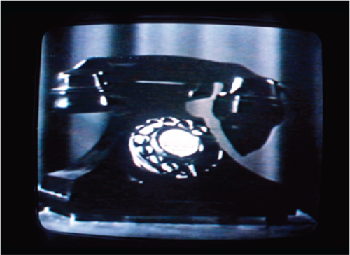 Christian Marclay   Telephones , 1995 video; sound; 7:30 minutes © Christian Marclay Courtesy of Paula Cooper Gallery, New York