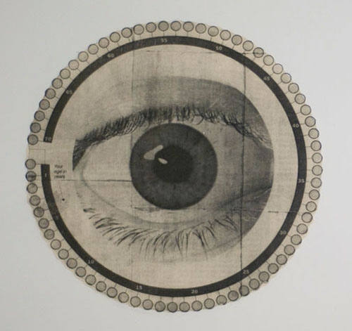 Judith K. Brodsky  American, born 1933, Providence, Rhode Island (lives in Princeton, New Jersey)  Why do we sleep? , 2010 from the 20 Most Important Scientific Questions of the 21st Century series photo etching Courtesy of the artist