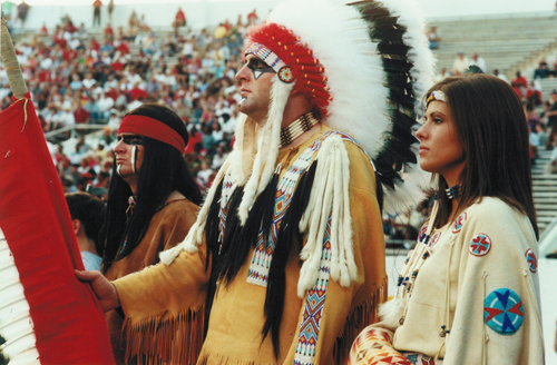 1998 - ASU Indian Family Courtesy of ASU Public Relations