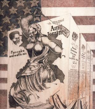 Murray N. DePillars   Aunt Jemima , 1958 print