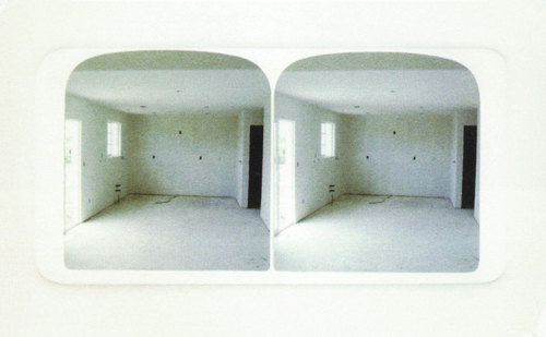 Kim Beck   Interior , 2001 Iris print with embossment Courtesy of the artist