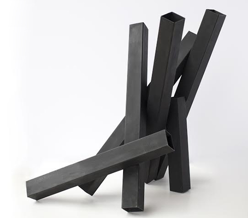 Tony Rosenthal   Big Six , 1977 structural steel 20 x 21 inches