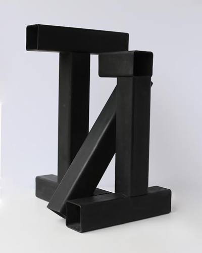 Tony Rosenthal   T-Square , 1978 structural steel 22.5 x 16.75 inches