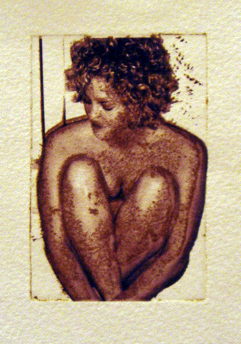 Katie Milum   Heart Shaped Body , 2005 intaglio over digital print