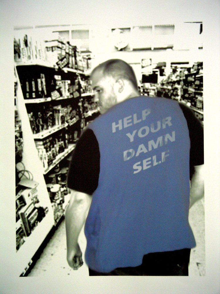 William Tribble   How may I help you? , 2005 digital print