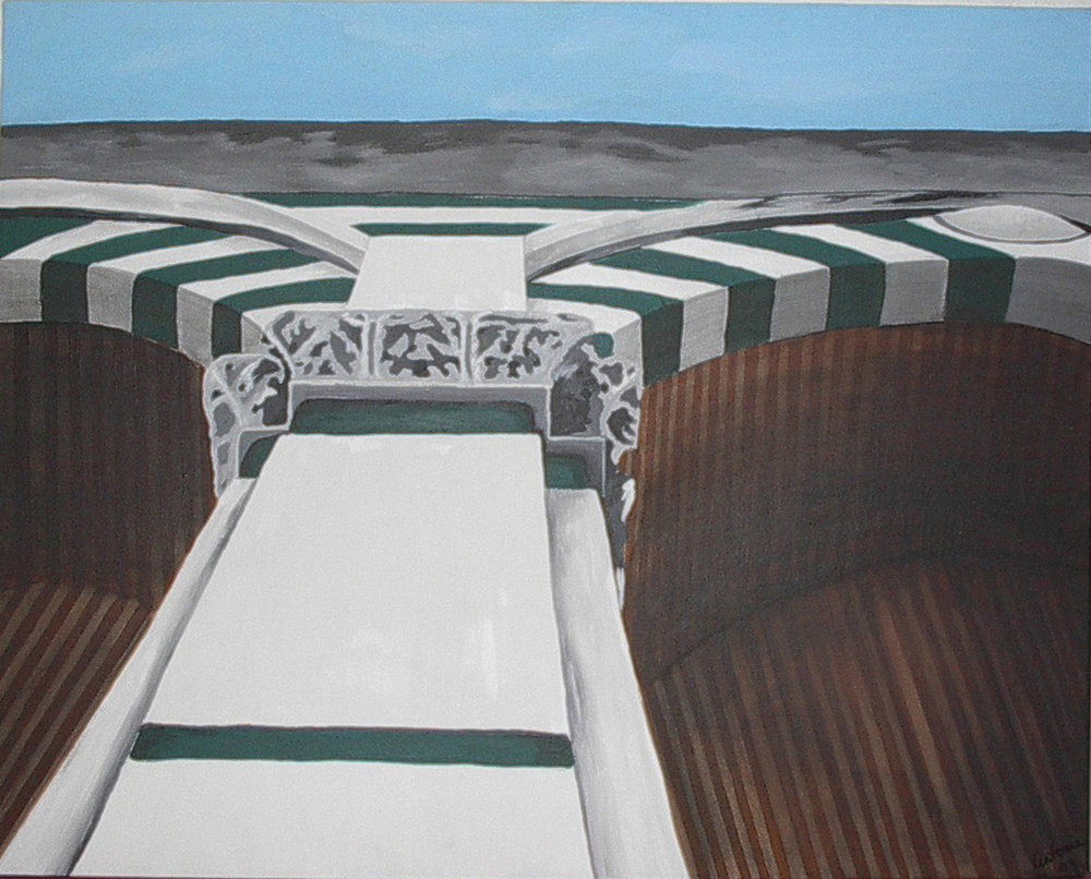 Antonia Varner   Santa Maria Novella , 2003 oil and acrylic on canvas