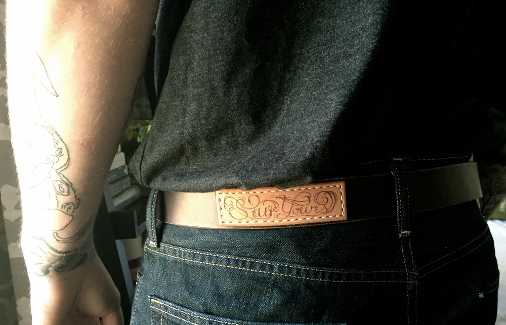Personalized Patch Belt