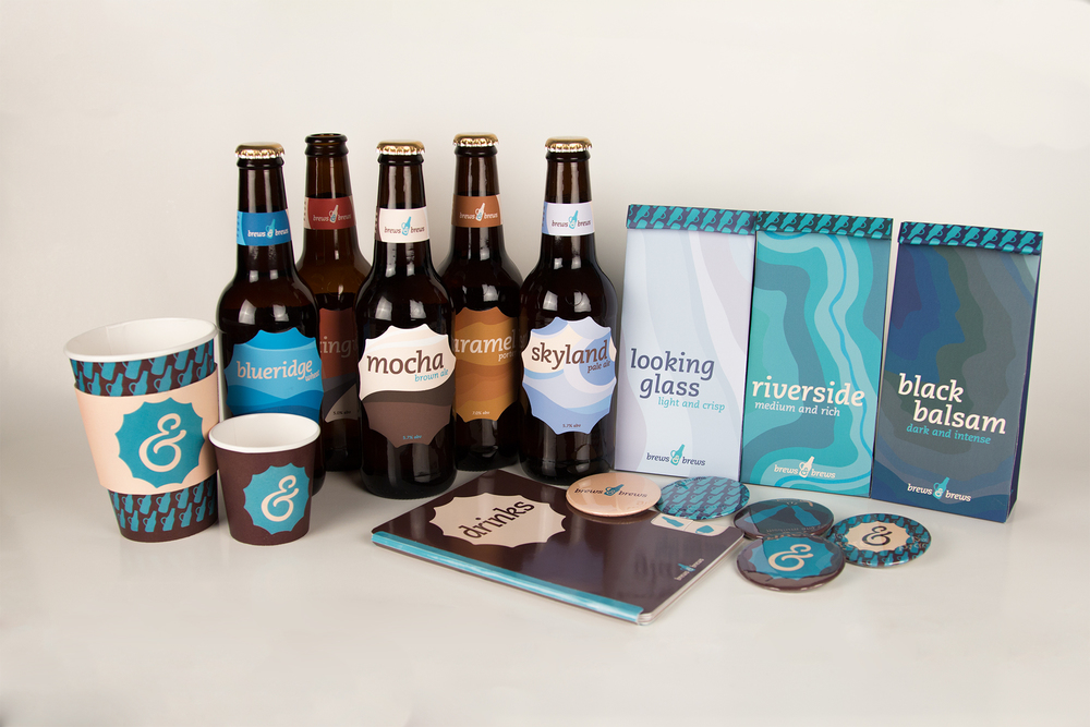Brews & Brews  - A collaborative branding project undertaken by myself,  Kyungmin Han , and   Hanna Trussler .