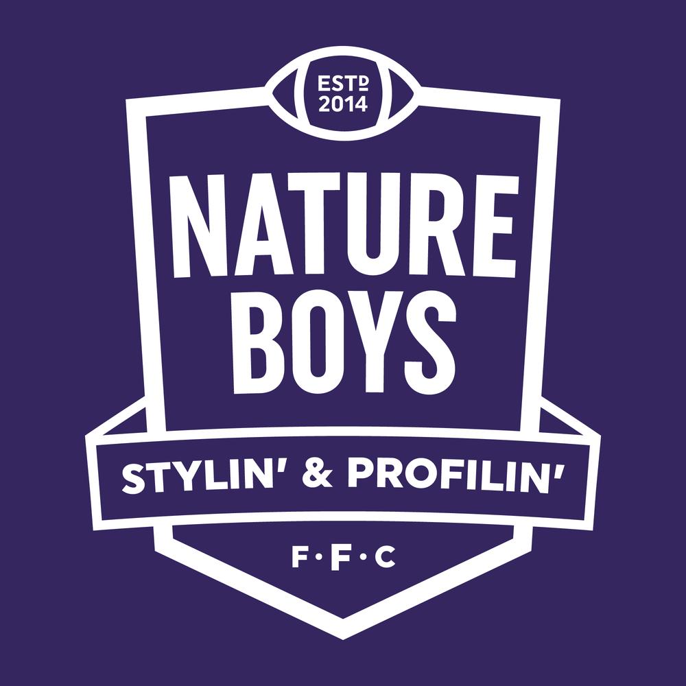 Nature Boys Flag Football Club  Badge