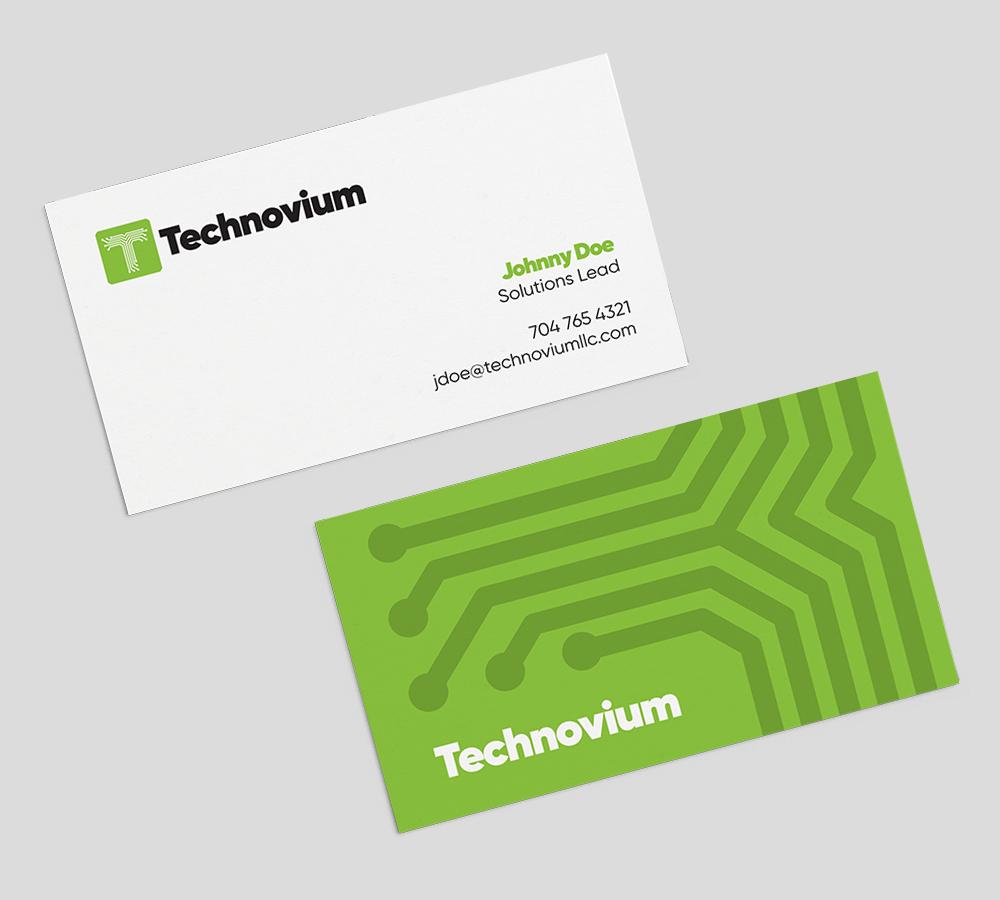 Technovium  Branding