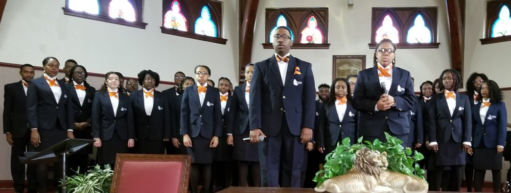 Lincoln University Choir