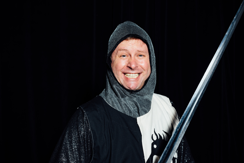 Sam Robison as Lancelot