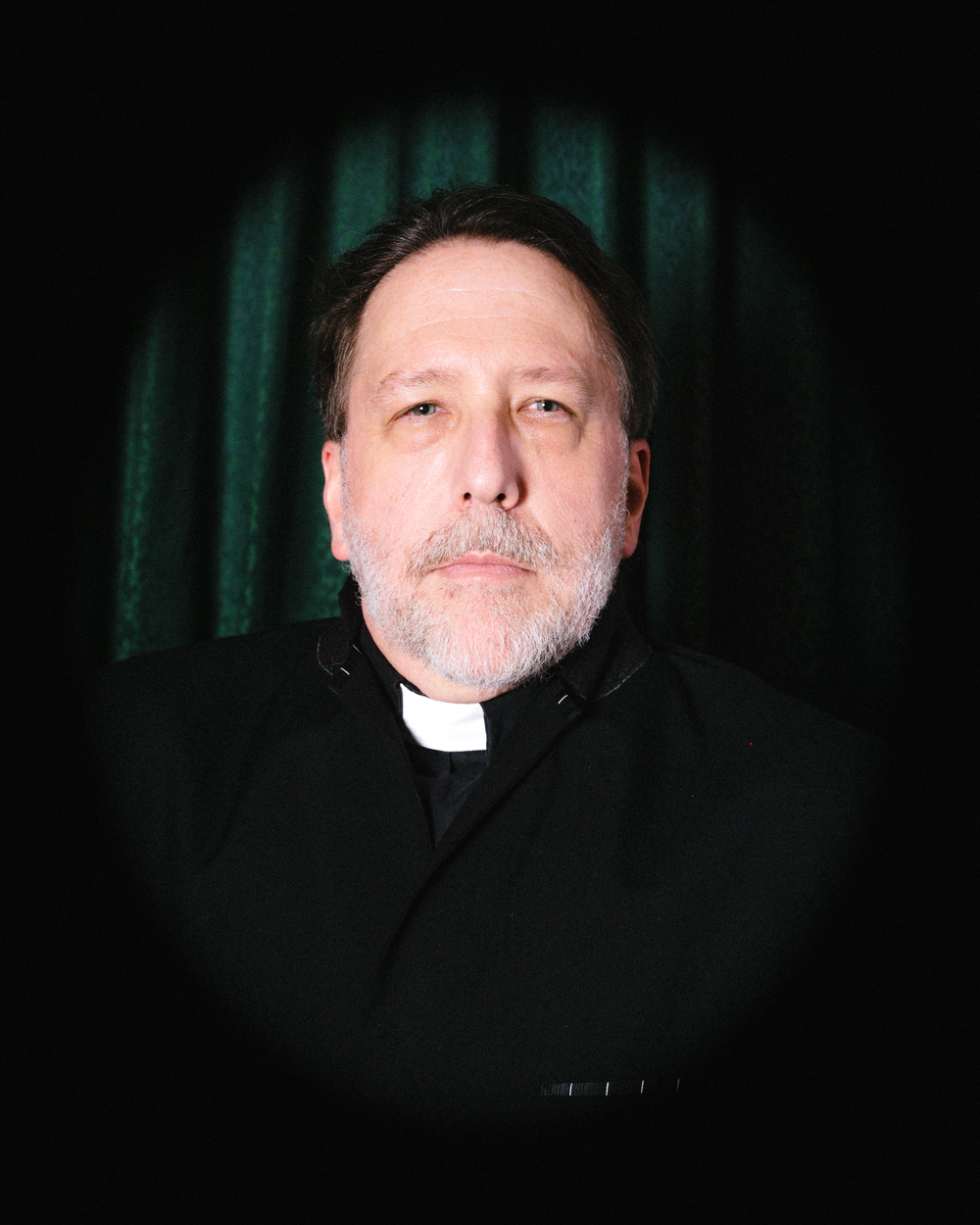 Bill Piper as Reverend Jonathan Witherspoon, delegate from New Jersey