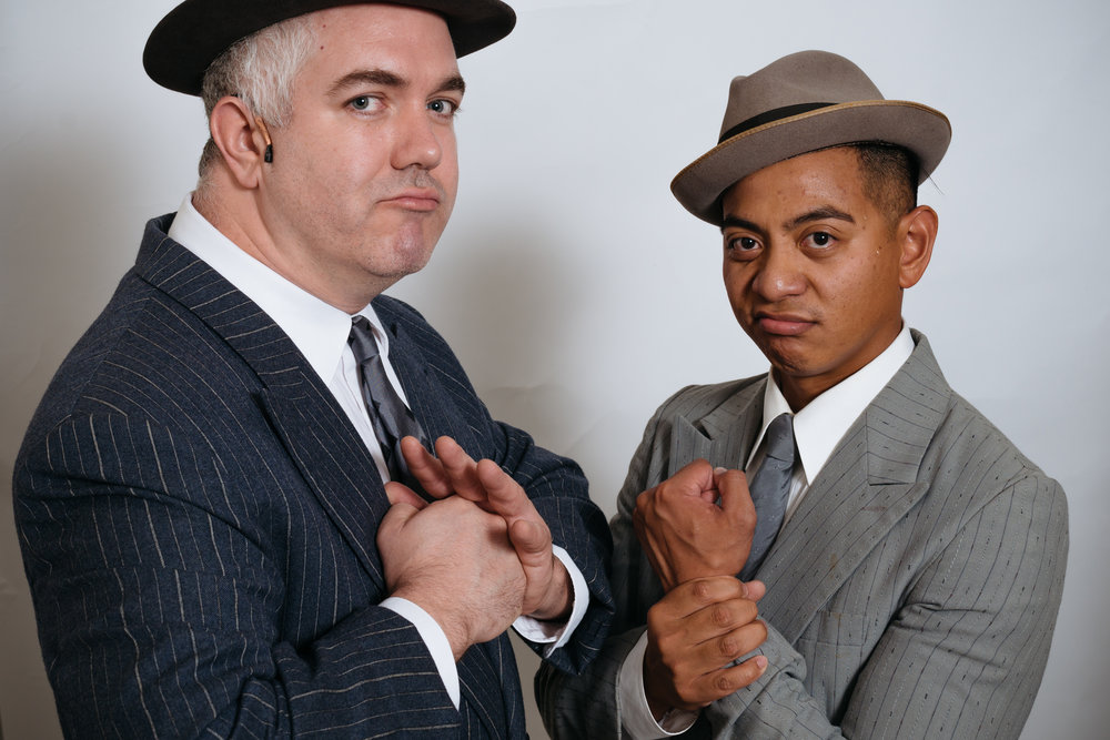 Michael King as Big Six and Marlon Ramos as Sonny