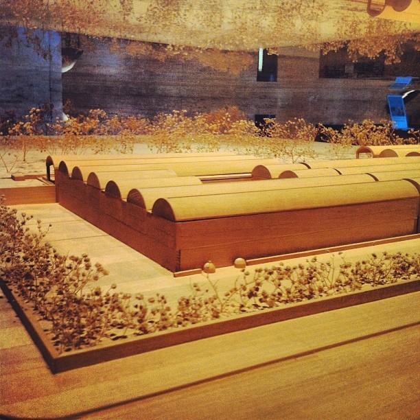 Louis Kahn Kimbell Art Museum model #architecture