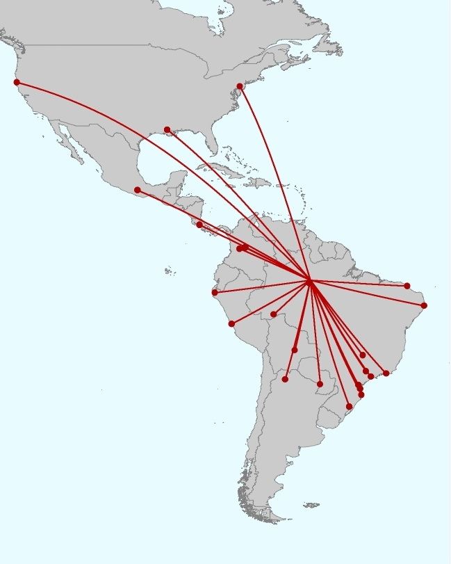 Course participants came from eight countries across the Americas