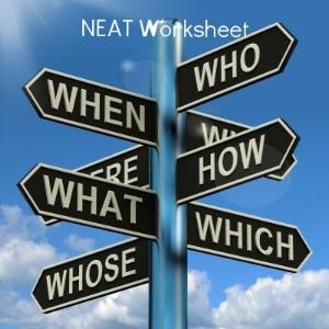 NEAT Worksheet