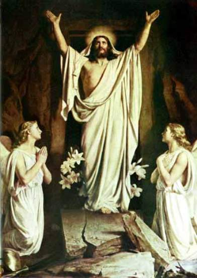 The Resurrection by Carl Heinrich Bloch
