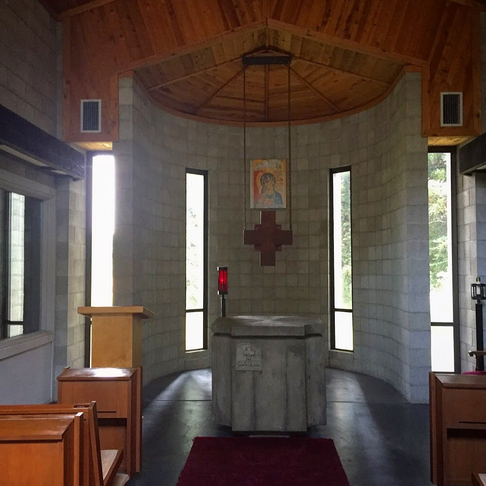 Inside the Prayer Chapel, Abby of New Clairvaux in Vina, California