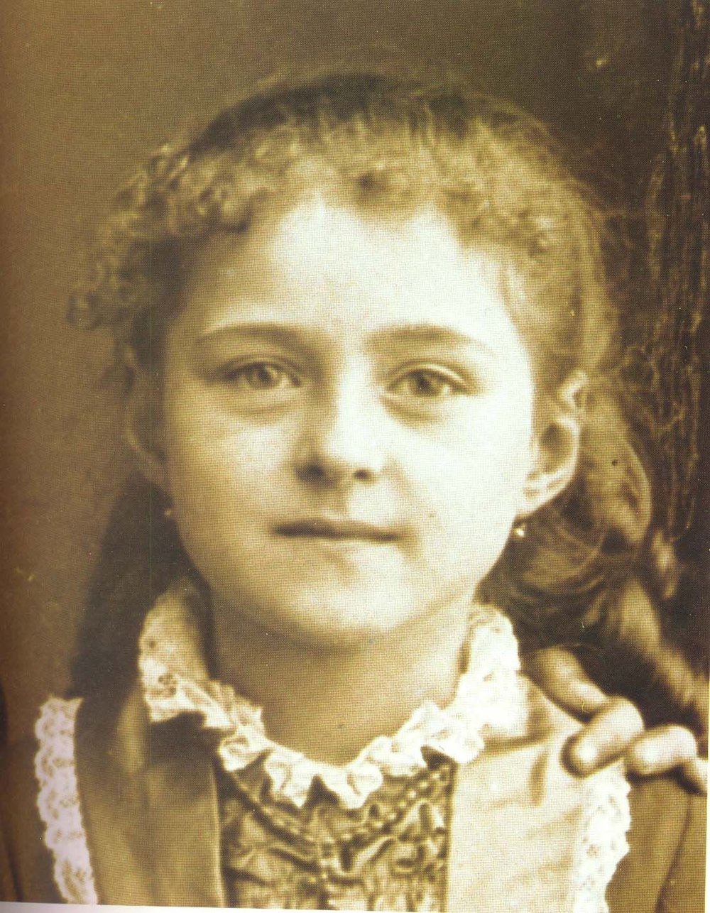 St. Therese of the Child Jesus and the Holy Face, c. 1878, age 5