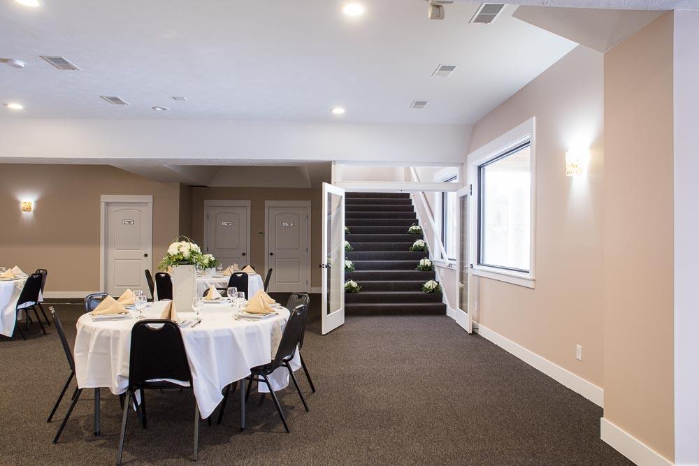 banquet hall stairway
