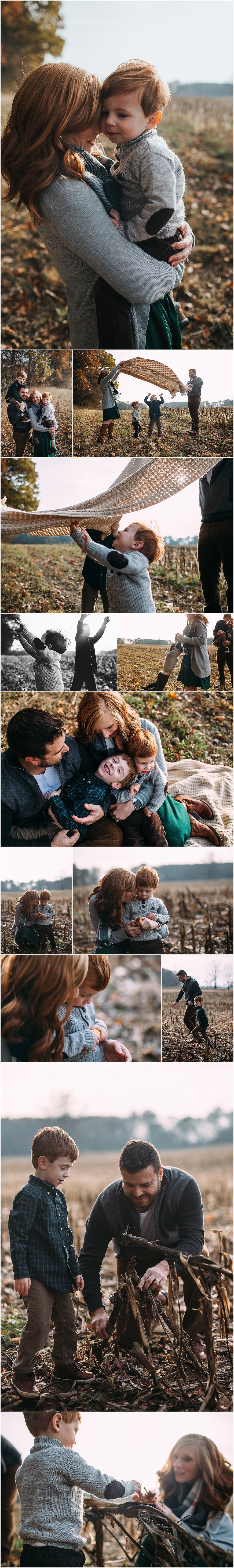 fall family photo session in kalamazoo michigan