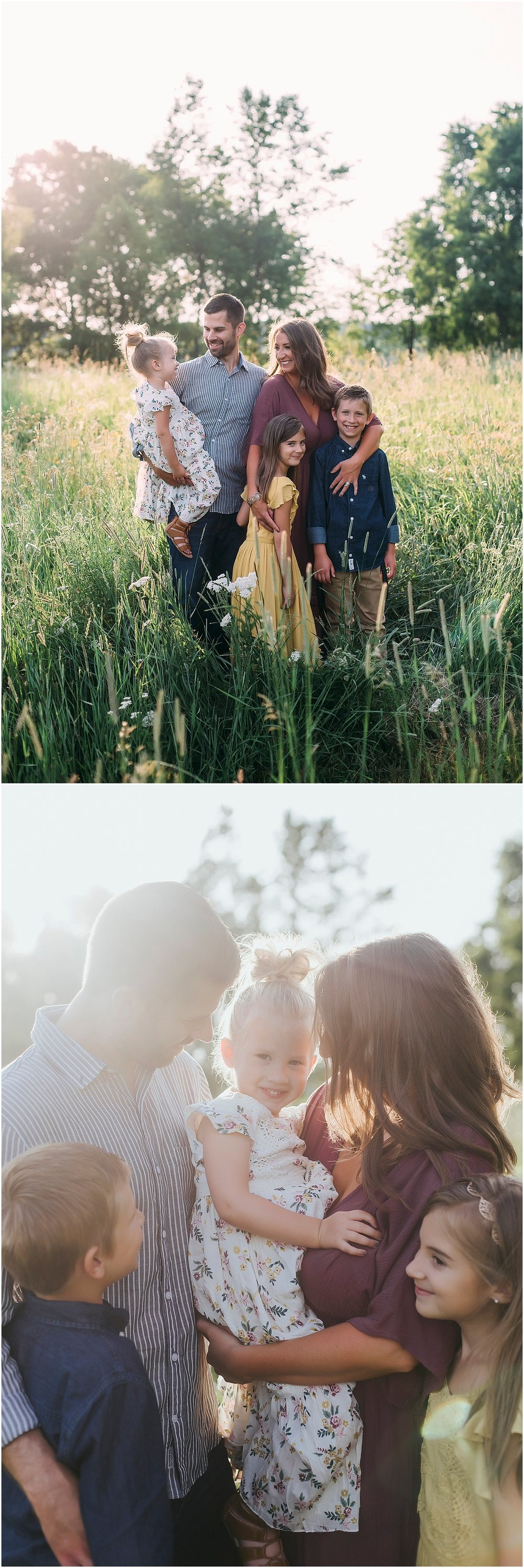 family of 5 photos in kalamazoo michigan