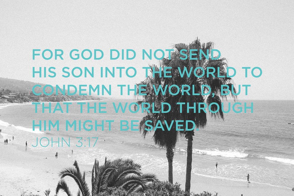 JOHN 3:17 - TAYLORKRISTIINA.COM