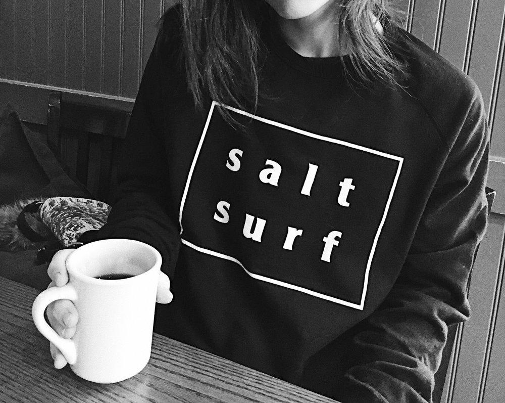 Salt Surf Sweatshirt via taylorkristiina.com