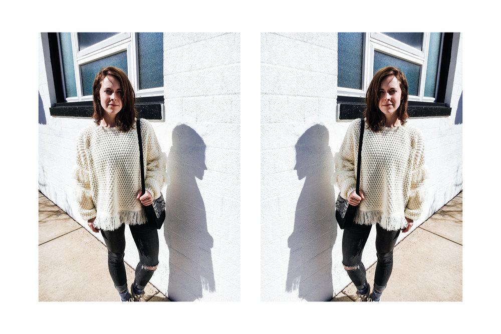 isabel fringe sweater via taylorkristiina.com