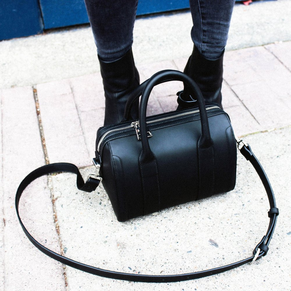 THE ANDY LEATHER SATCHEL - KRISTIINA TAYLOR - HONG KONG