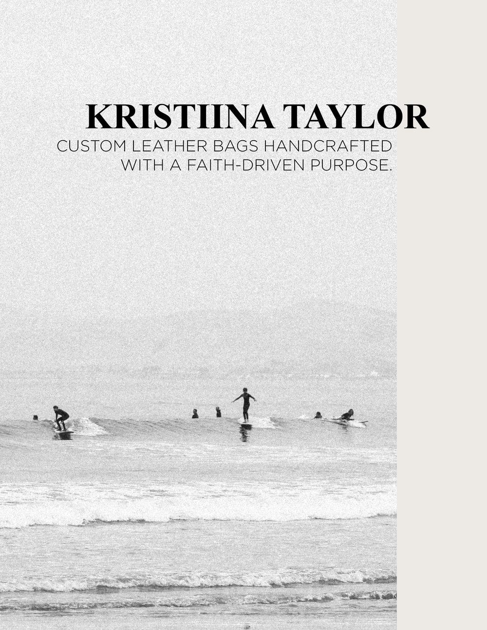Branding: Kristiina Taylor