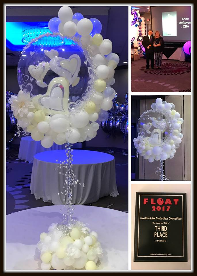 Float 2017 International Balloon Convention - award for Table Centerpiece