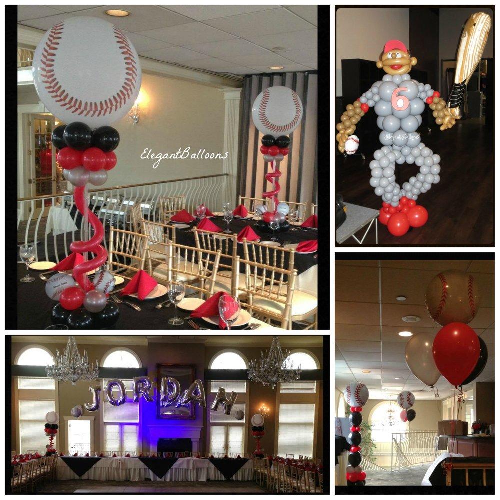Phillies baseball themed
