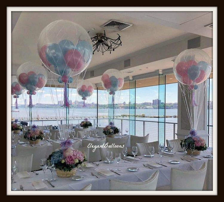 Hot Air Balloon Centerpieces