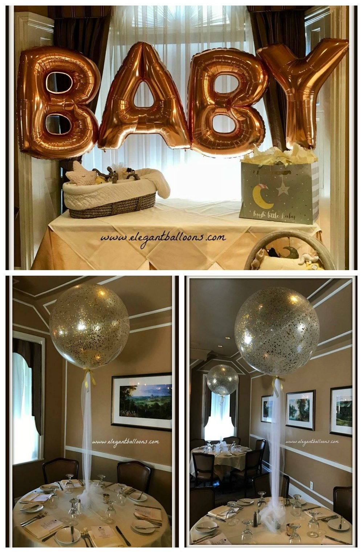 Baby Glitter Balloons