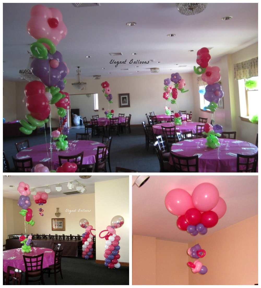 Flower Garden Theme Baby Shower