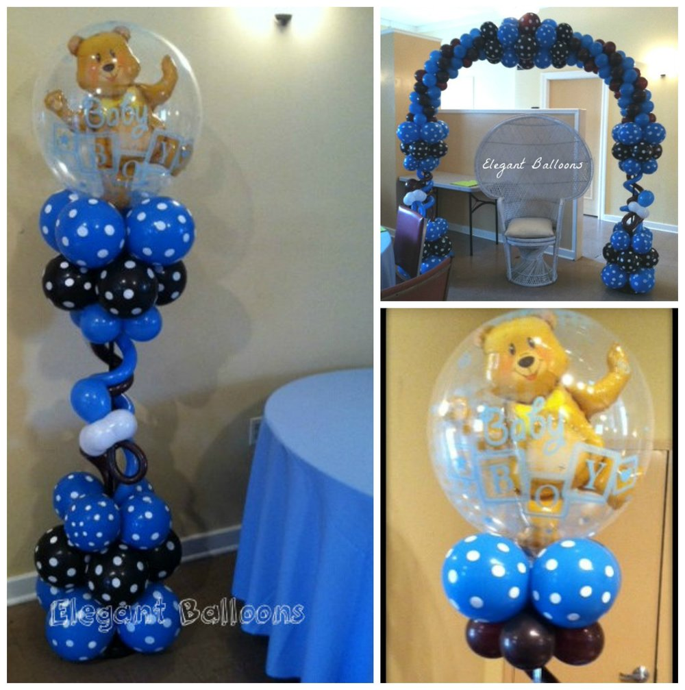 Teddy Bear Themed Boy Baby Shower