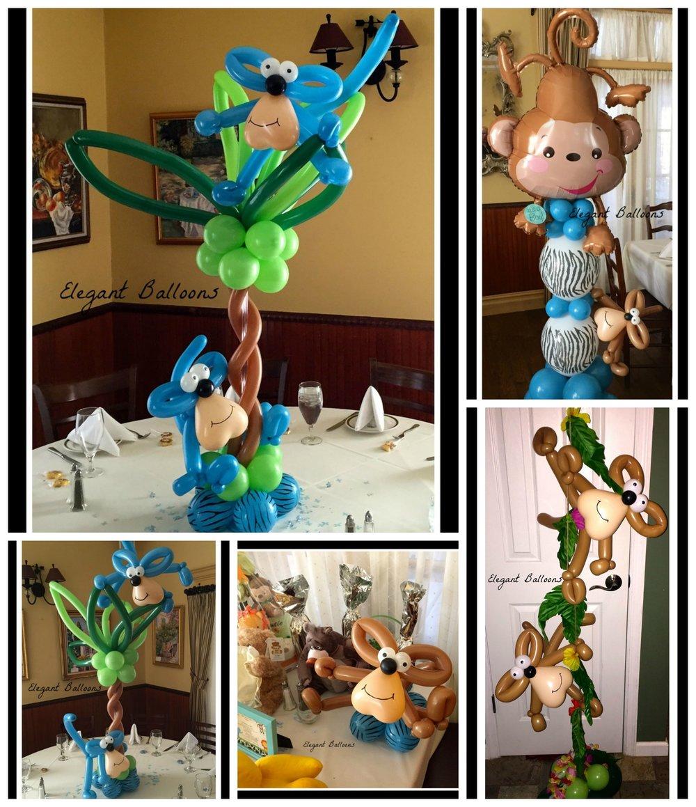 Monkey Palm Tree Theme
