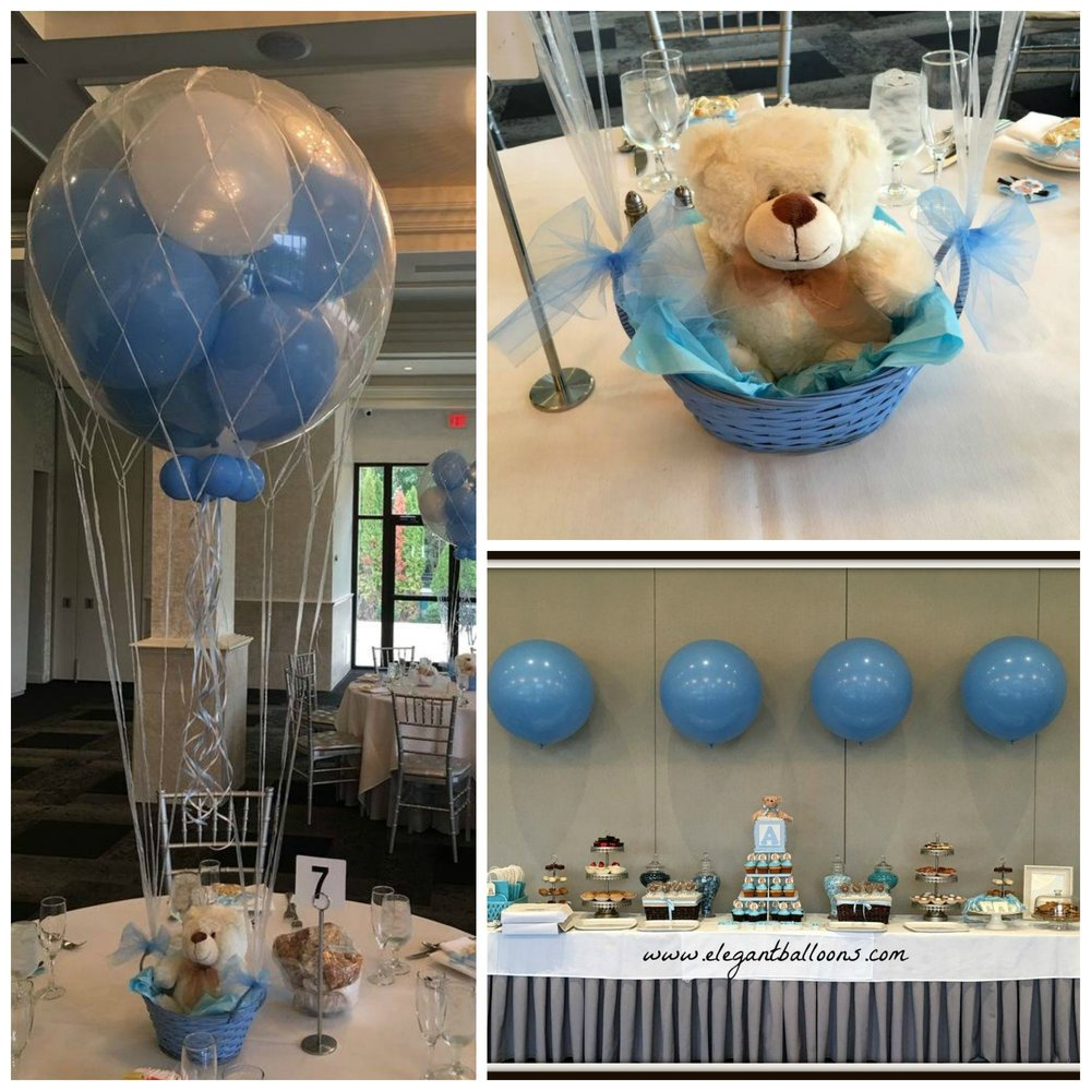 Teddy Bear Hot Air Balloon Theme