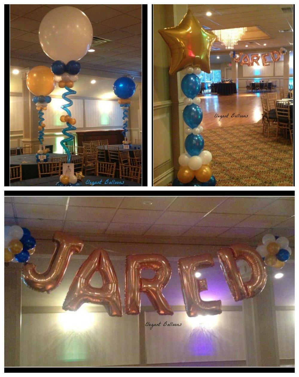 Jared's bar mitzvah
