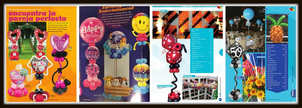 Our work has been featured in Qualatex Images Magazine and Qualatex Catalogs