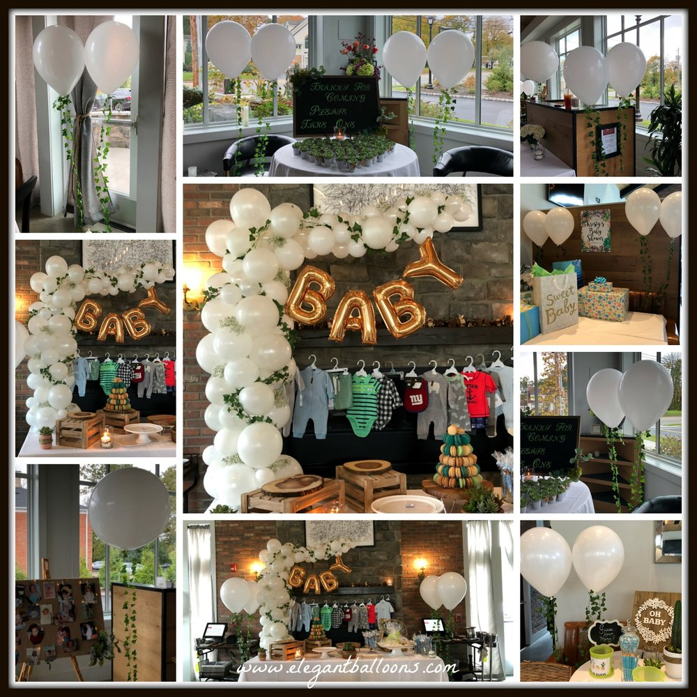 organic style baby shower with Ivy