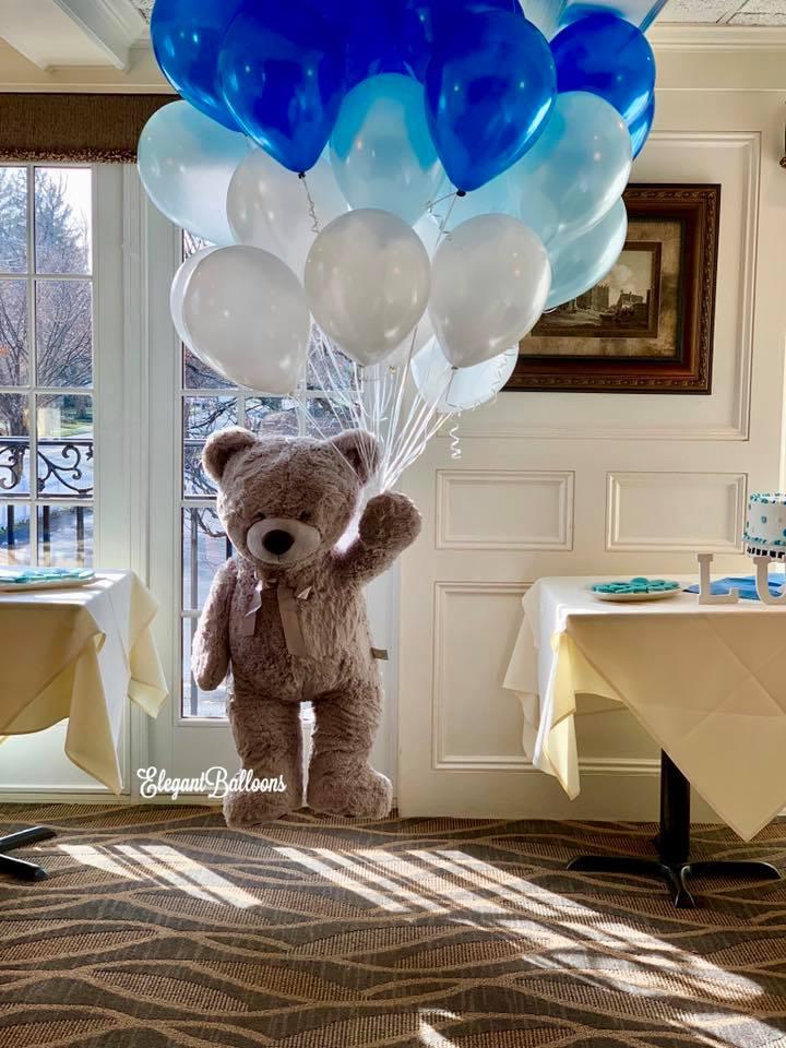 Floating Teddy Bear