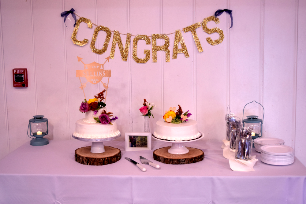 simple cake table