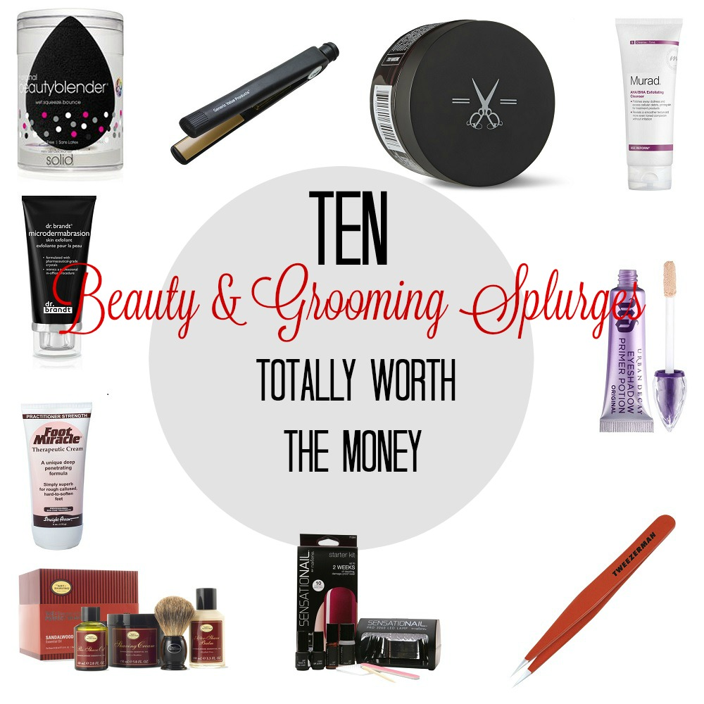 Ten Beauty and Grooming Splurges Totally Worth the Money