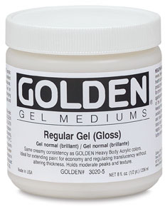 Golden Gel Medium, $17.42 at Utrect Art Supply