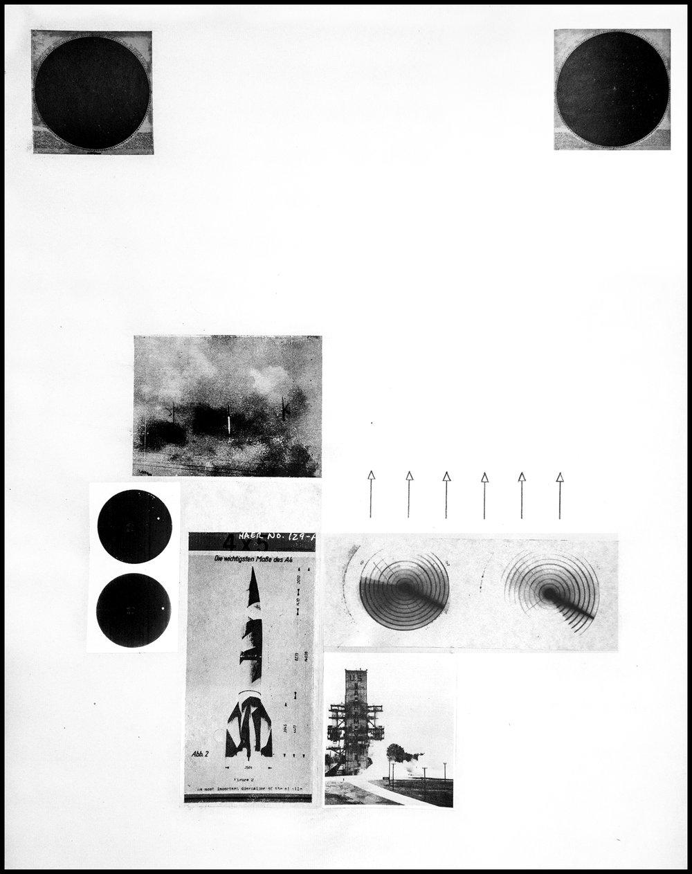 Redstone,  Xerox Print