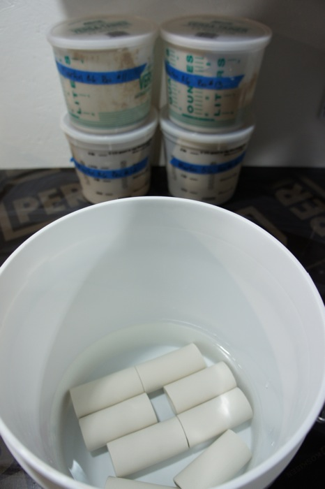 Soaking Test Tiles